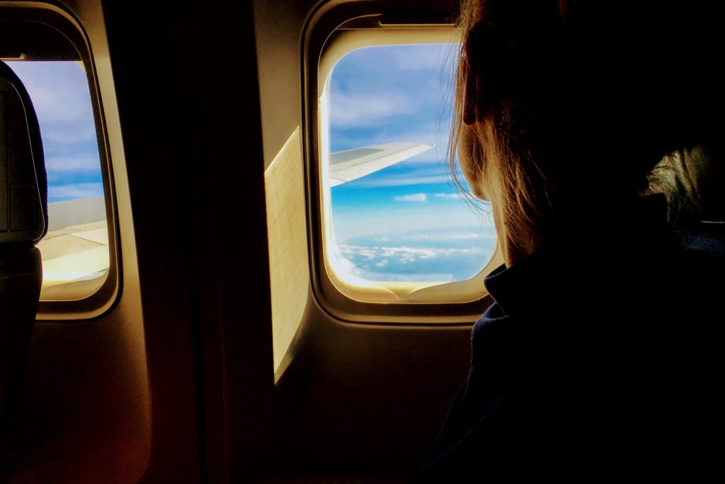 How to avoid getting sick on planes